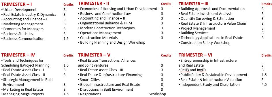 REM Course Structure